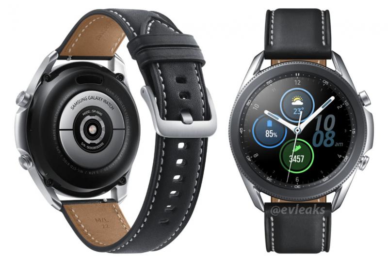Samsung Galaxy Watch3 (45 mm). Kuva: evleaks / Evan Blass.