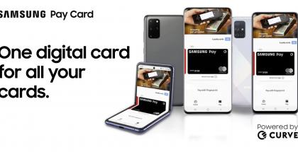 Samsung Pay Card yhteistyössä Curven kanssa.