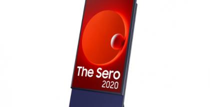 Samsungin kääntyvä Sero-televisio.