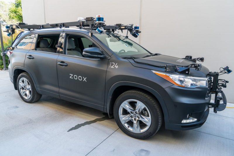 Zooxin testaukseen käyttämä auto.
