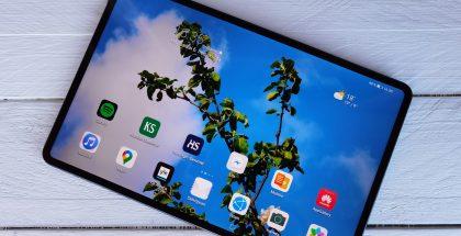 MatePad Pron LCD-näyttö on kirkas ja laadukas.