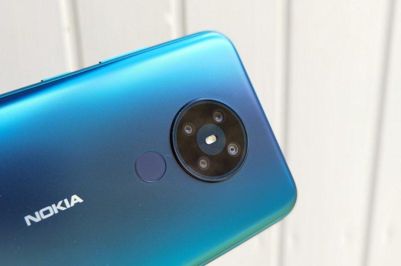 Nokia 5.3:ssa on neljä takakameraa.