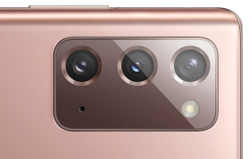 Samsung Galaxy Note20:n kamerat. Kuva: WinFuture.de.