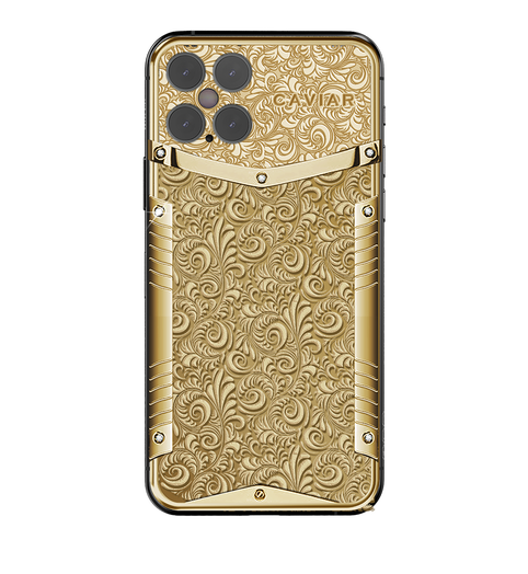 Caviar iPhone 12 Pro Victory Pure Gold.