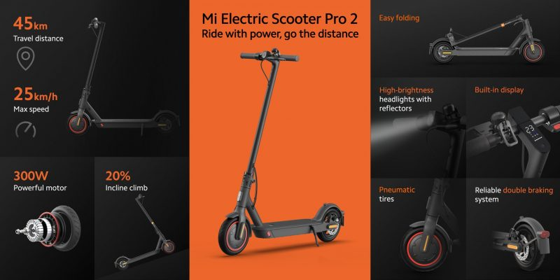 Mi Electric Scooter Pro 2.