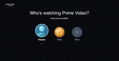 Amazon Prime Videoon voi luoda myös lapsille profiilin.