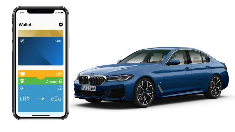 CarKey-avain tulee löytymään korttina Applen Wallet-lompakkosovelluksesta.