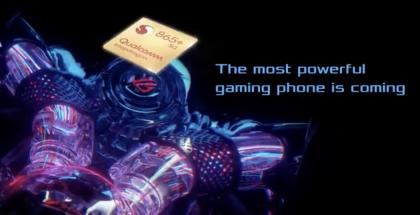 Kuvankaappaus Asuksen jo verkossa vilahtaneelta videolta, jossa kerrottiin Snapdragon 865+ -järjestelmäpiiristä.