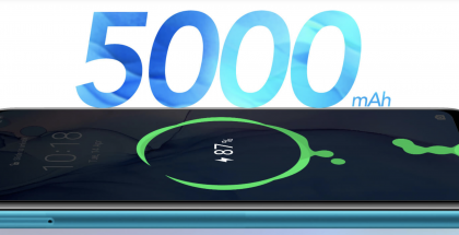 Honor 9A:ssa on mittava 5 000 milliampeeritunnin akku.