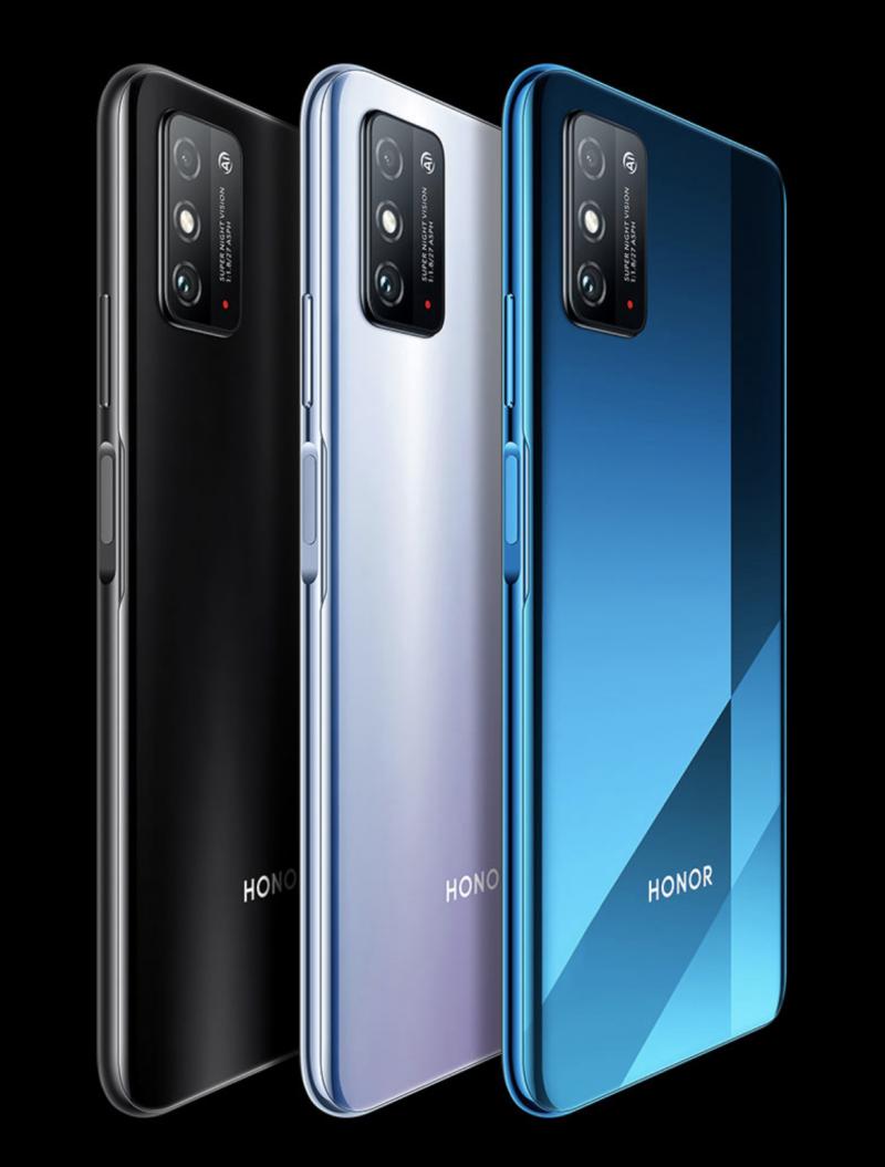 Honor X10 Maxin värivaihtoehdot.