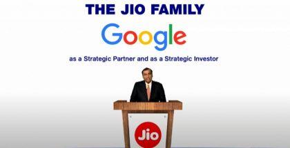Mukesh Ambani kertoi Googlen sijoituksesta.