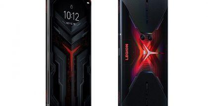 Lenovon uusi Legion-pelipuhelin kuvavuodossa.