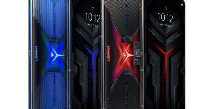 Lenovo Legion Phone Duel kahdessa eri värissä.