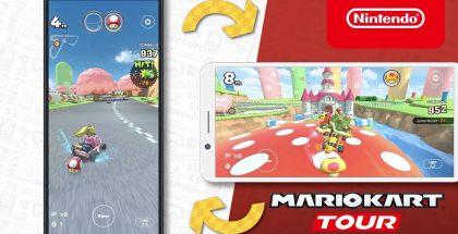 Mario Kart Tour saa nyt myös laajakuvatilan.