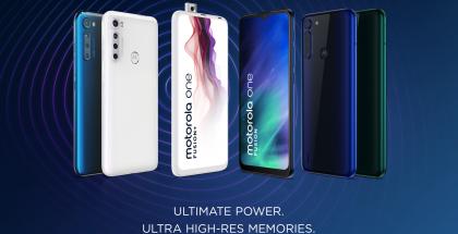 Motorola One Fusion ja One Fusion+.