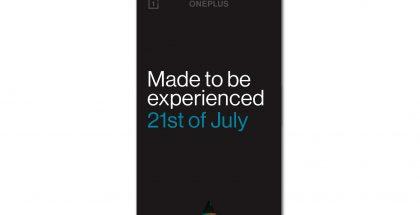 OnePlussan kutsu seuraamaan lisätyn todellisuuden lanseeraustilaisuutta 21. heinäkuuta. Kuva: Ishan Agarwal.