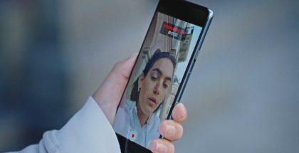 OnePlus Nordin näyttöpaneeli vaikuttaa olevan tasainen.