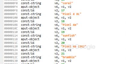 9to5Google-sivusto löysi maininnat Pixel 4a (5G):stä ja Pixel 5:stä Google-sovelluksen testiversiosta.