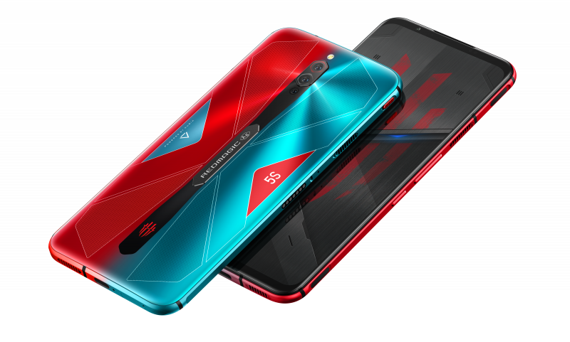 Red Magic 5S:n Pulse-värivaihtoehto.