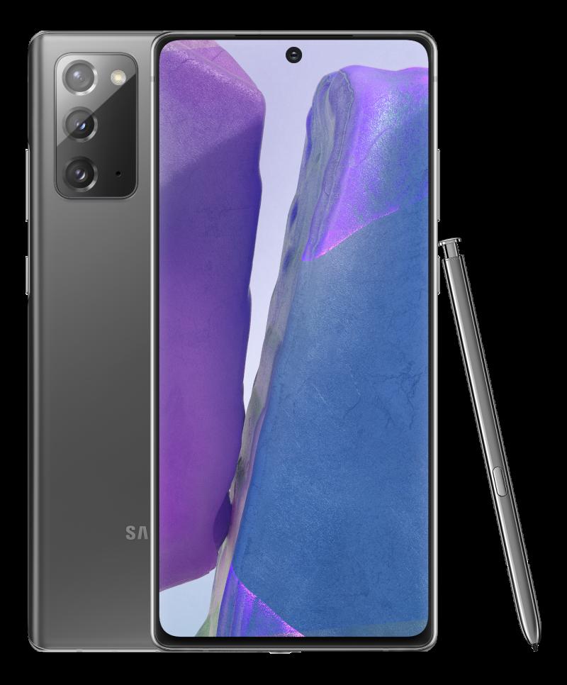 Samsung Galaxy Note20, Mystic Black.