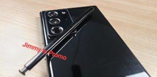 Kuvavuoto! Samsung Galaxy Note20 Ultra -huippupuhelin paljastui ensi kerran live-kuvissa