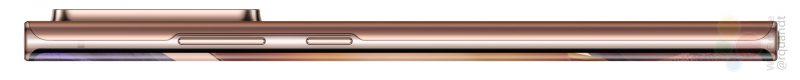 Galaxy Note20 Ultra kyljeltä. Kuva: WinFuture.de.