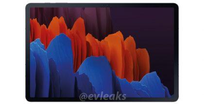 Samsung Galaxy Tab S7. Kuva: evleaks / Evan Blass.