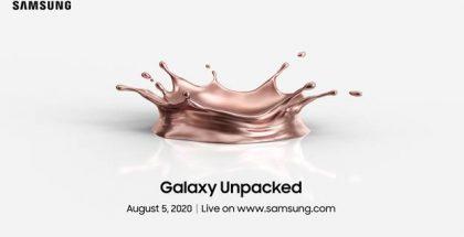 Samsung järjestää Galaxy Unpacked -julkistustilaisuutensa verkkotapahtumana 5. elokuuta.