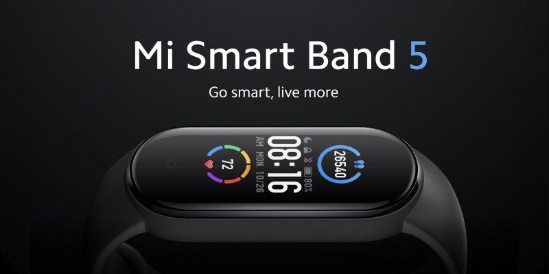 Mi Smart Band 5:ssä on 20 prosenttia suurempi näyttö.