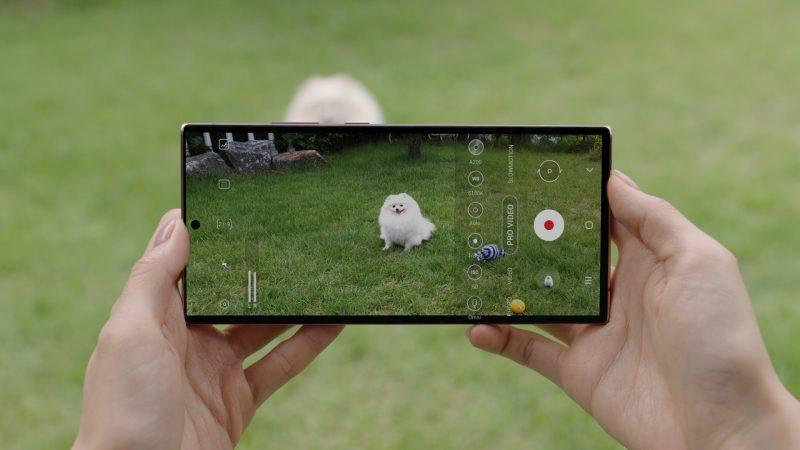 Pro Video -tila kehittyy Galaxy Note20 -sarjassa.