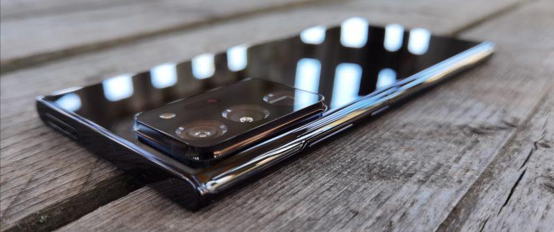 Galaxy Note20 Ultra on teknisesti Samsungin kehittynein älypuhelin.