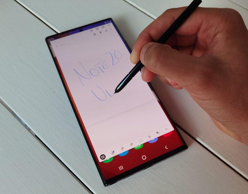 S Penin käyttö Galaxy Note20 Ultralla on luonnollisempaa kuin koskaan.