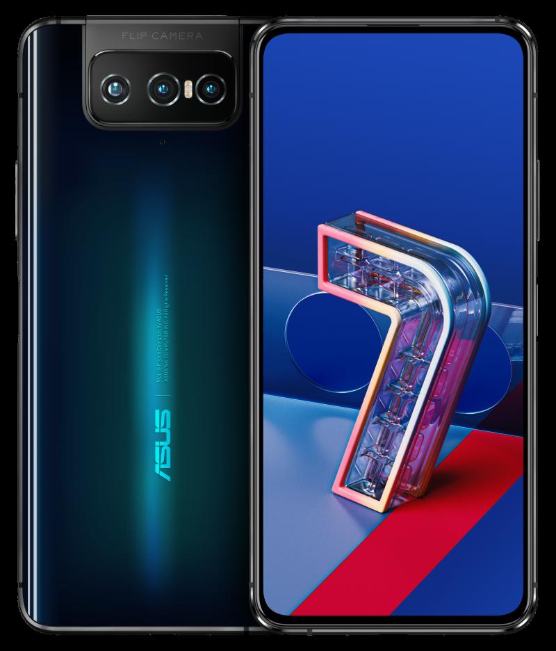Asus ZenFone 7 / ZenFone 7 Pro, Aurora Black.