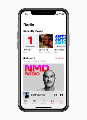 Apple Musicin radiokanavien määrä kasvaa kolmeen.