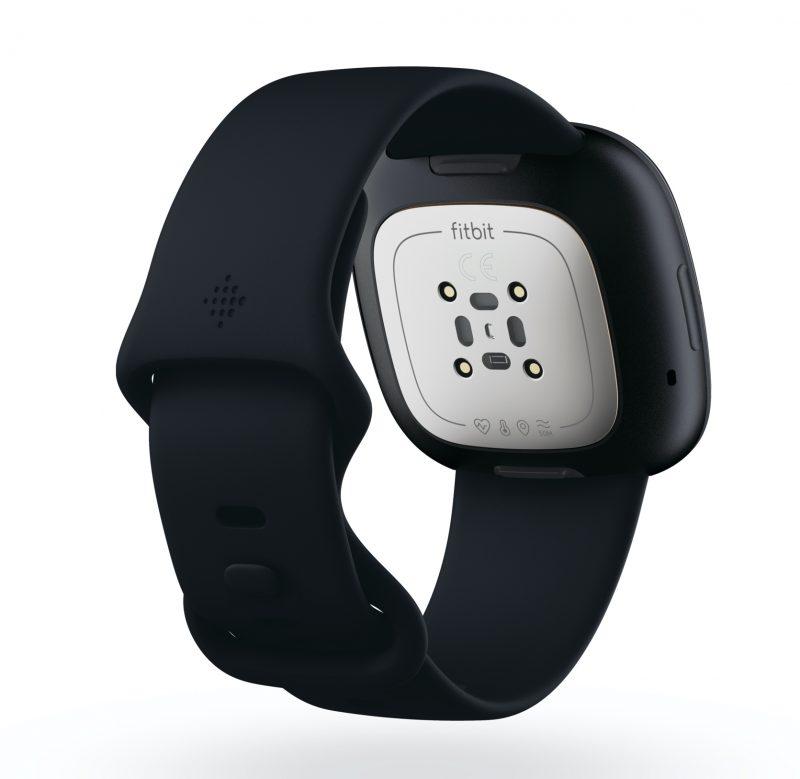 Fitbit Sensessä on aiempaa monipuolisemmat sensorit.