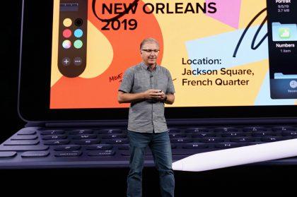 Applen maailmanlaajuisen markkinoinnin johtaja Greg Joswiak.