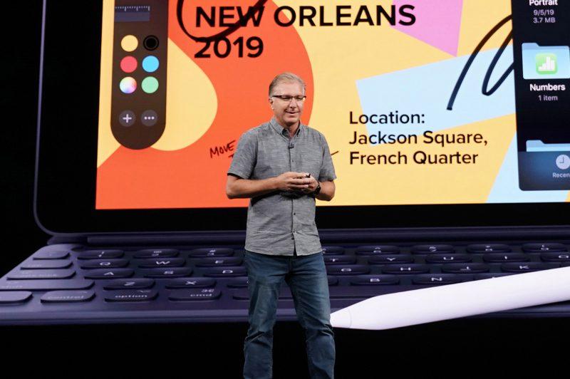 Applen uusi maailmanlaajuisen markkinoinnin johtaja Greg Joswiak.