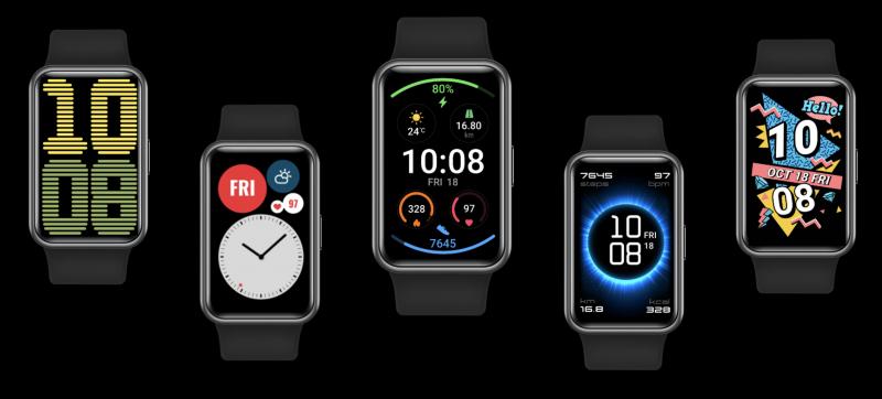 Huawei Watch Fitin kellotauluja.