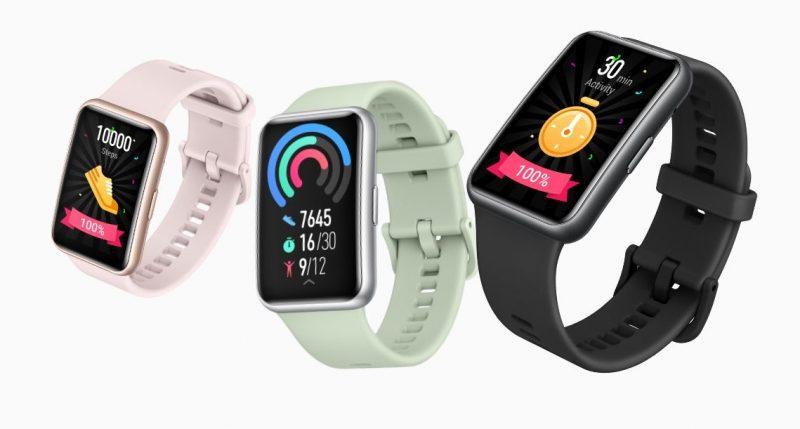 Huawei Watch Fit tarjoaa monipuoliset aktiivisuus- ja harjoitustoiminnot.