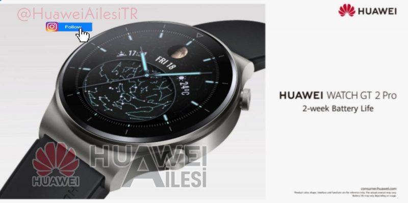 Huawei Watch GT 2 Pro tarjoaa edelleen 2 viikon akunkeston.