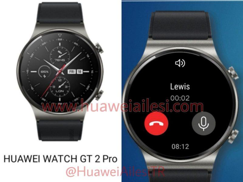 Huawei Watch GT 2 Prota voi käyttää myös puheluihin, paritetun älypuhelimen kanssa.