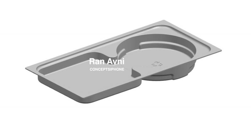 Väitetty kuva uuden iPhone-sukupolven myyntipakkauksen osasta. Kuva: Concepts iPhone.