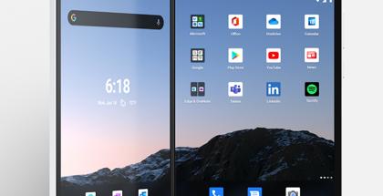 Microsoftin alkuperäinen Surface Duo.