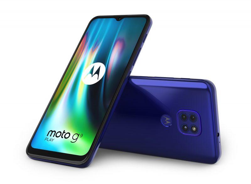Motorola Moto G9 Play, Sapphire Blue.