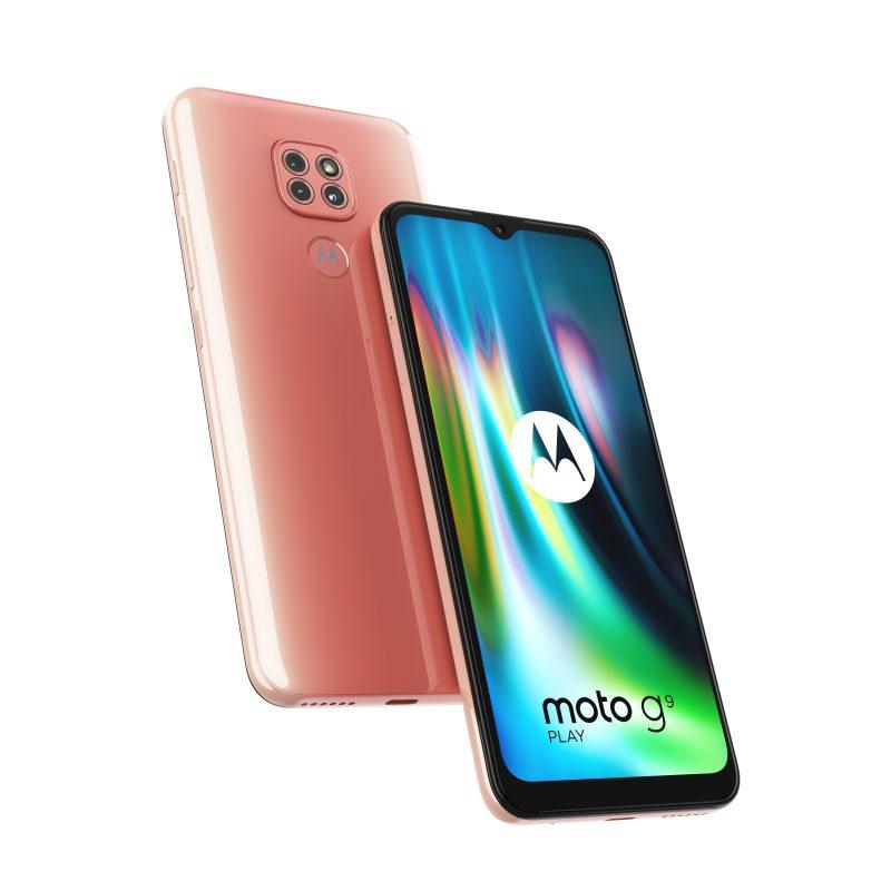 Motorola Moto G9 Play, Spring Pink.