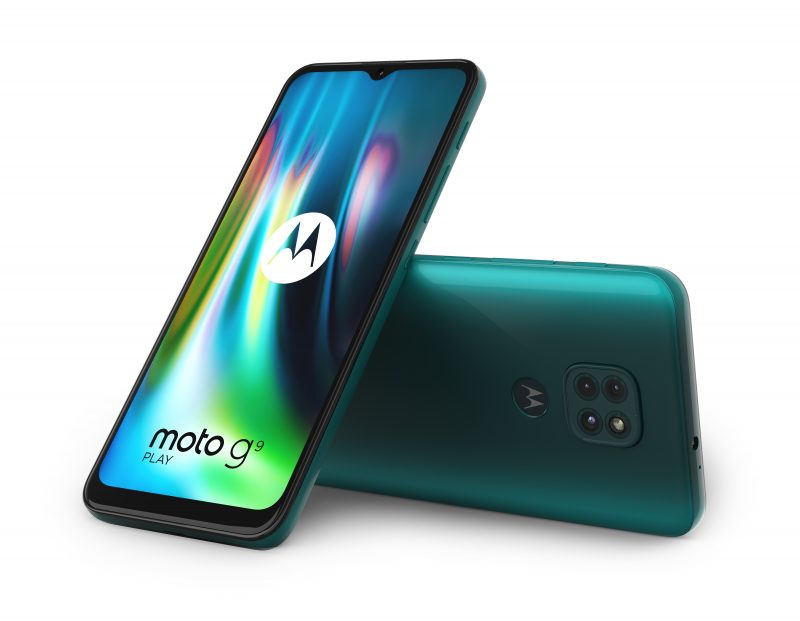 Motorola Moto G9 Play, Forest Green.