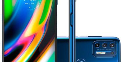 Motorola Moto G9 Plus. Kuva: evleaks / Evan Blass.