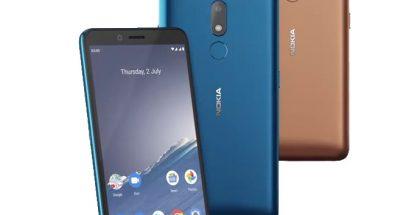 Nokia C3:n värivaihtoehdot.