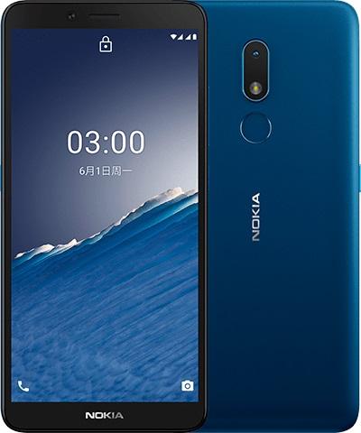 Nokia C3, Nordic Blue.