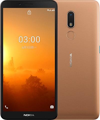 Nokia C3, Sand Gold.